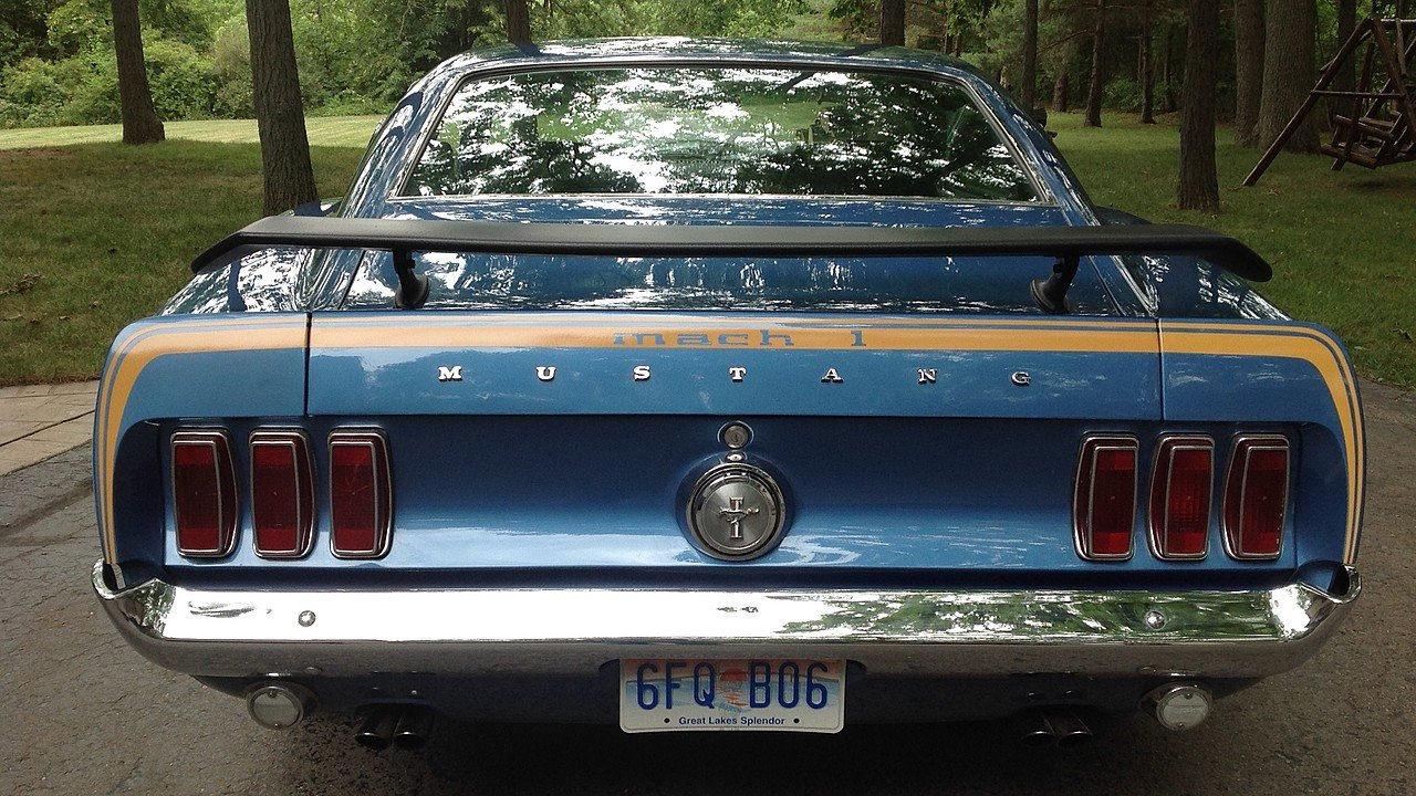Picture of 1969 ford mustang fastback exterior -  1969 Ford Mustang Fastback For Sale 100888710
