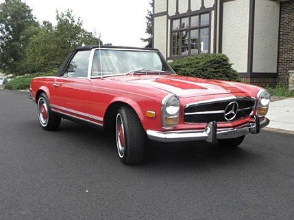mercedes benz 280sl classics for sale classics on autotrader. Black Bedroom Furniture Sets. Home Design Ideas
