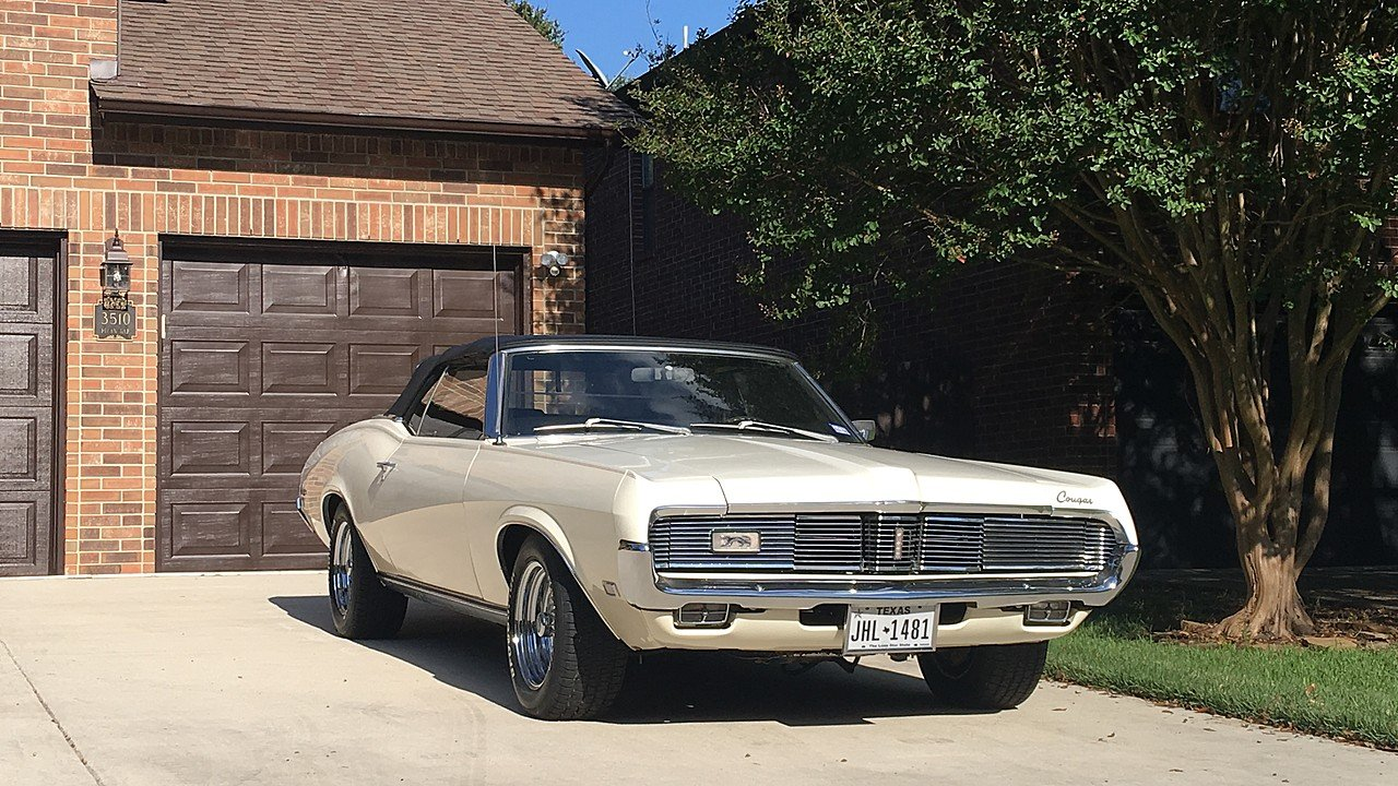 1969 mercury cougar for sale near san antonio texas 78247 for H r motors san antonio