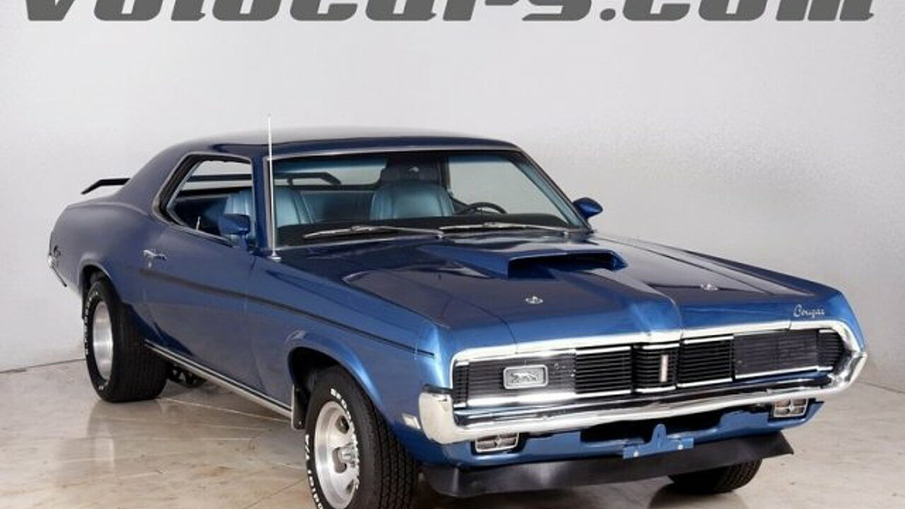 1969 mercury cougar for sale near volo illinois 60073 classics on autotrader. Black Bedroom Furniture Sets. Home Design Ideas