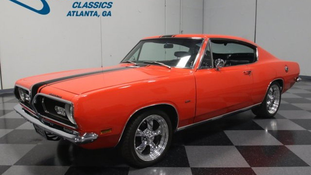 Plymouth Barracuda Muscle Cars and Pony Cars for Sale - Classics ...