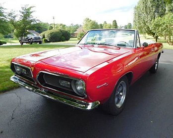 1969 Plymouth Barracuda for sale 101000375