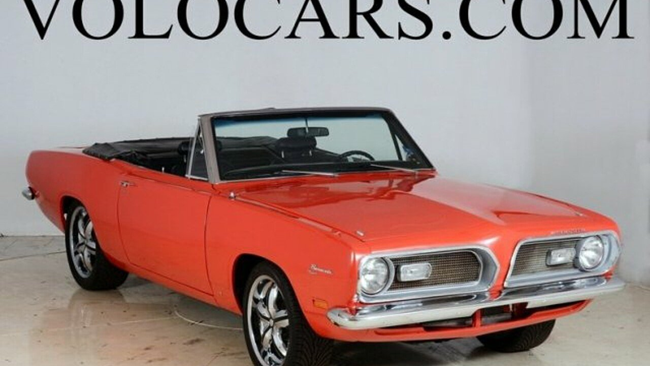 1969 Plymouth Other Plymouth Models for sale 100841847