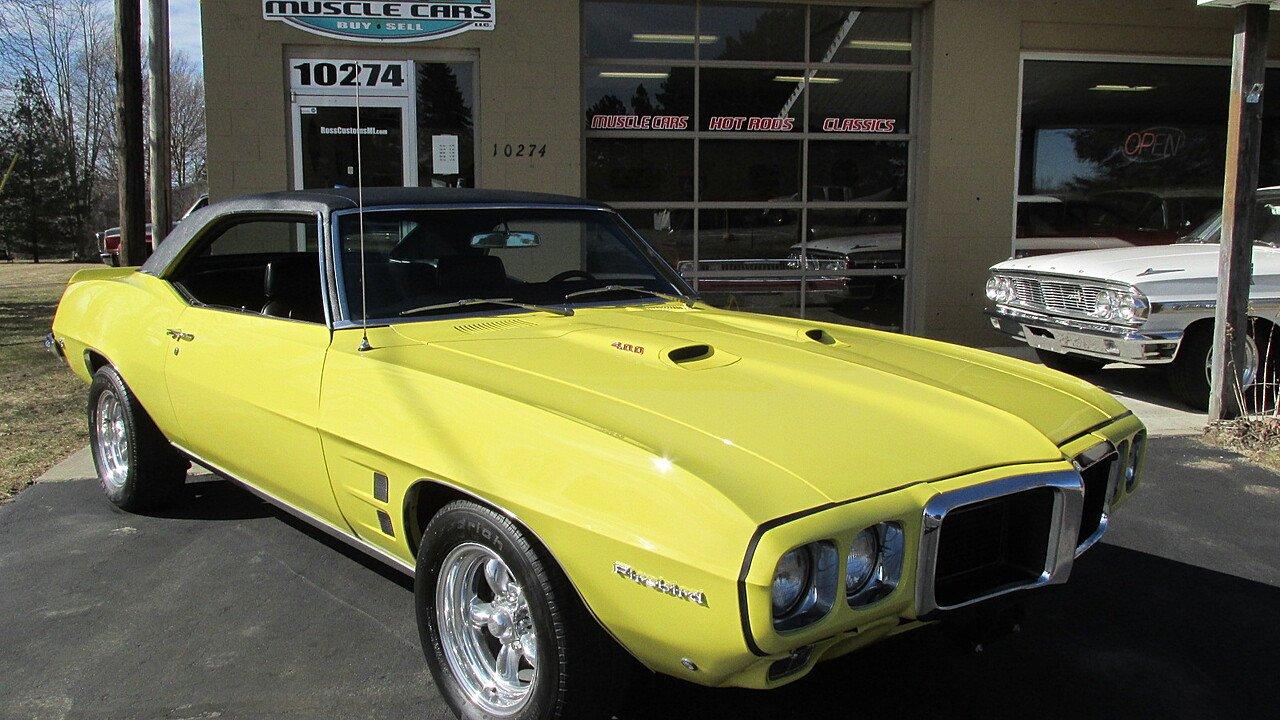 1969 Pontiac Firebird for sale near Goodrich, Michigan 48438 ...