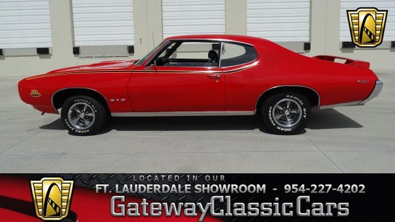 1969 pontiac gto for sale 100765331