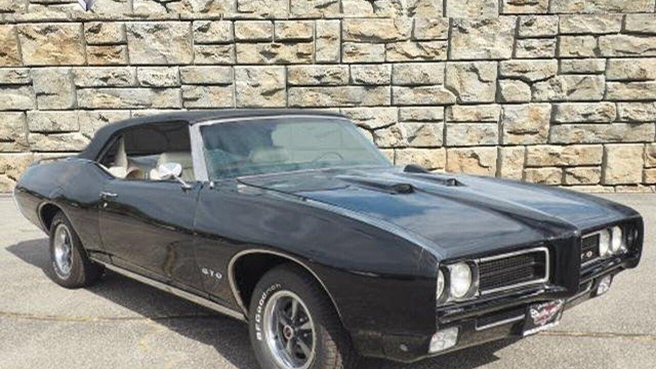 1969 Pontiac GTO for sale near Downers Grove, Illinois 60515 ...