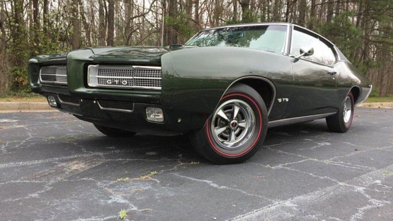 1969 Pontiac GTO for sale near Atlanta, Georgia 30340 - Classics ...