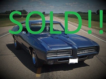 1969 Pontiac GTO for sale 100858653