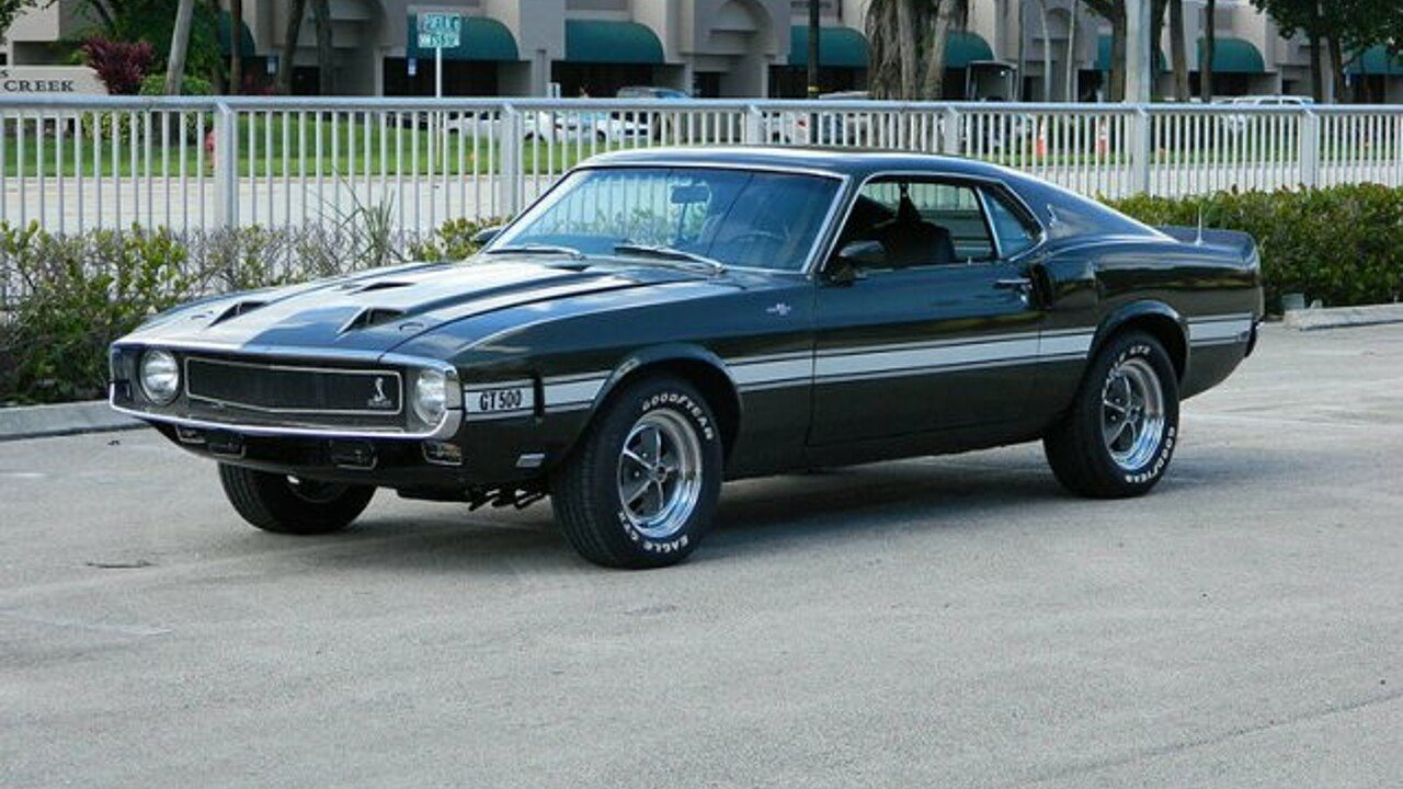 1969 Shelby GT500 for sale near Fort Lauderdale, Florida 33309 ...