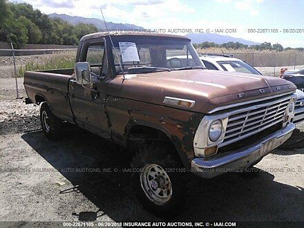 1969 ford F250 for sale 101016161