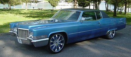 1970 Cadillac De Ville for sale 100773628