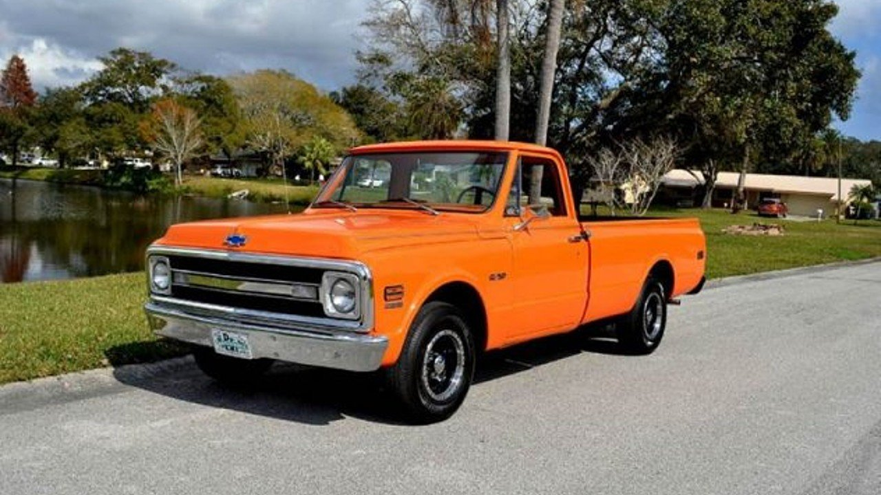 1970 chevrolet c k truck for sale near clearwater florida 33755 classics on autotrader. Black Bedroom Furniture Sets. Home Design Ideas