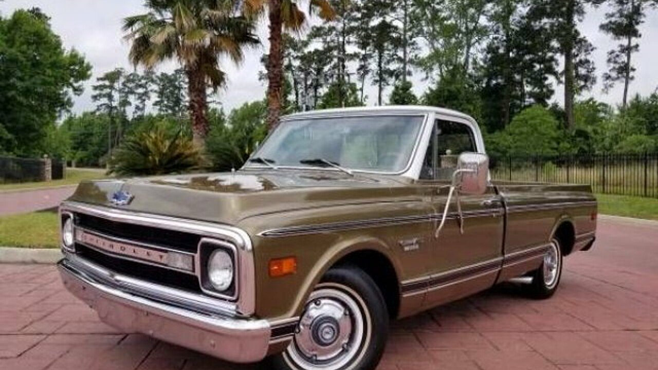 1970 Chevrolet C/K Trucks for sale 100877452