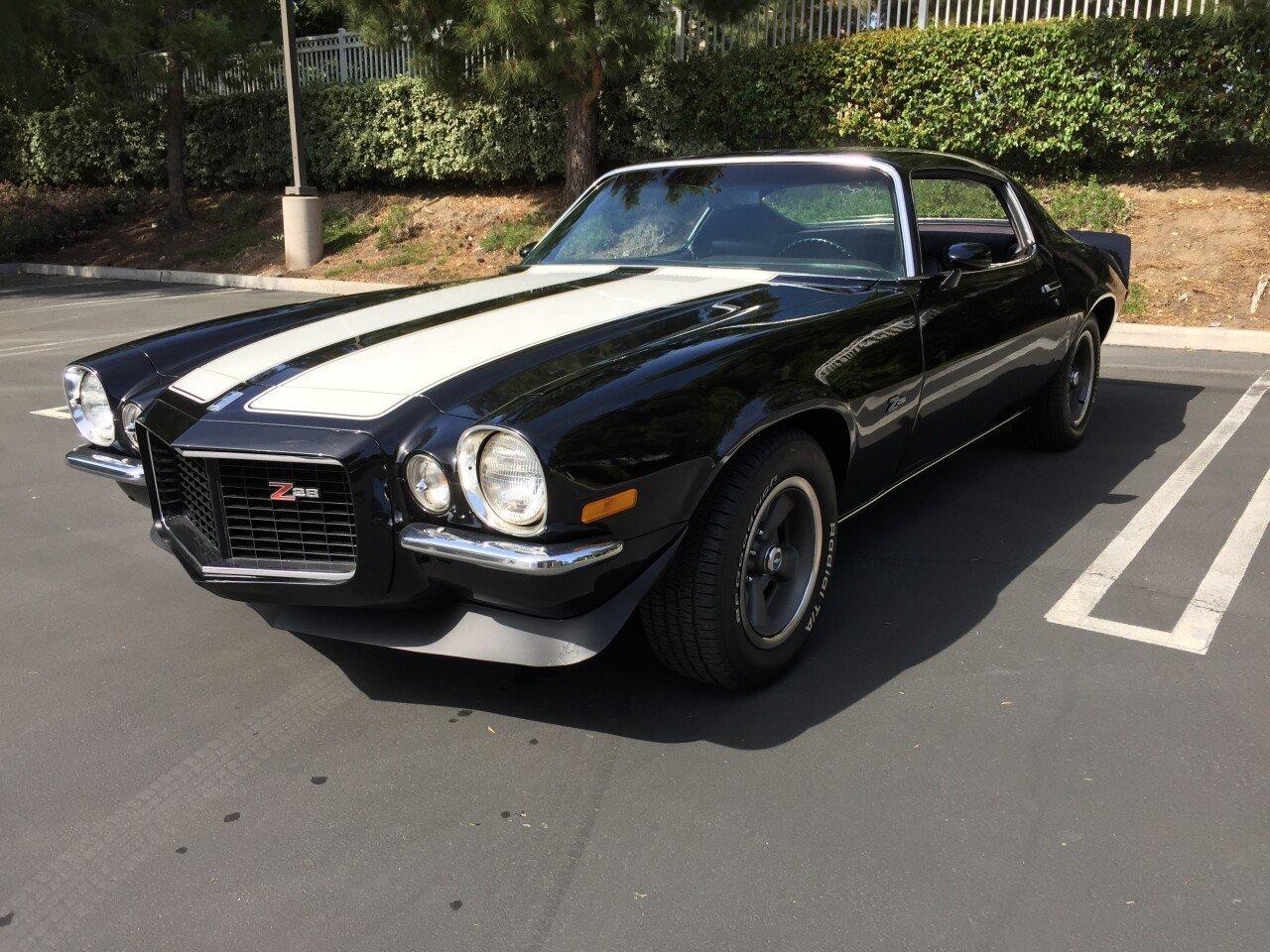 1970 Chevrolet Camaro Z28 For Sale Near Irvine California