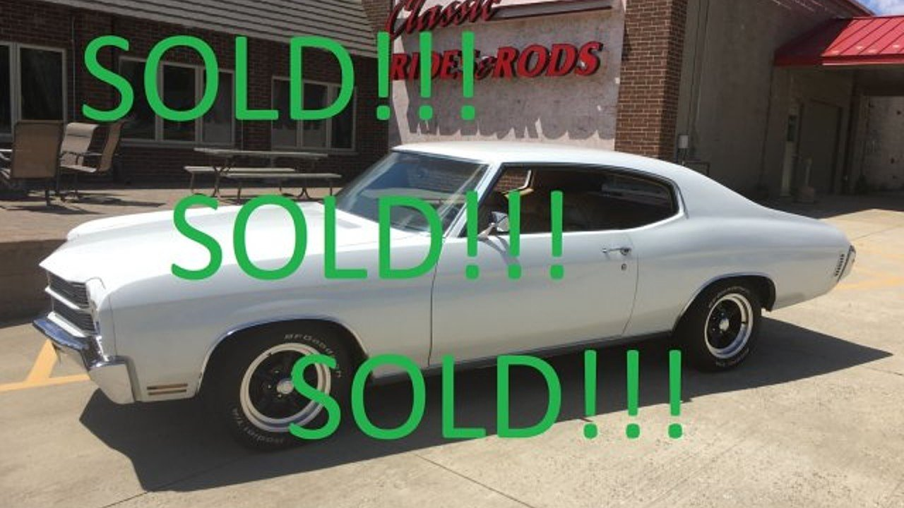 1970 Chevrolet Chevelle for sale 100886666