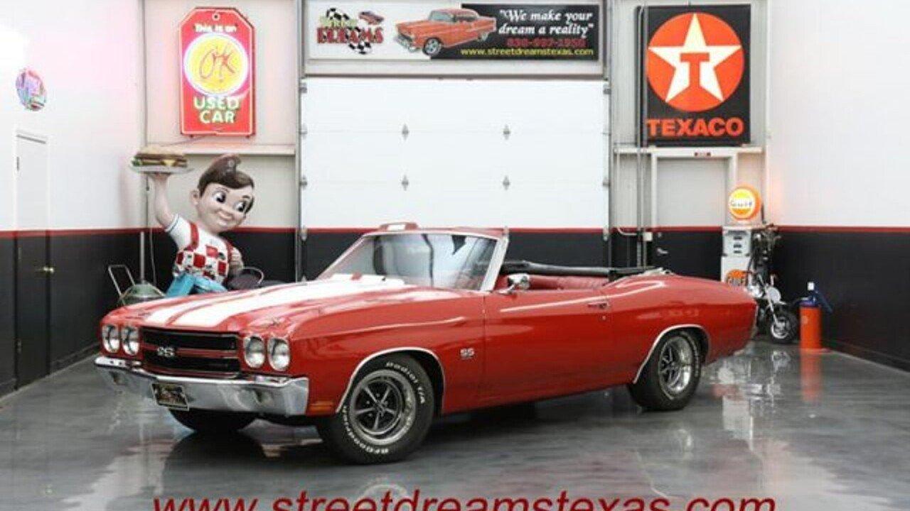 1970 Chevrolet Chevelle for sale near Fredericksburg, Texas 78624 ...