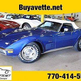 1970 Chevrolet Corvette for sale 100870987