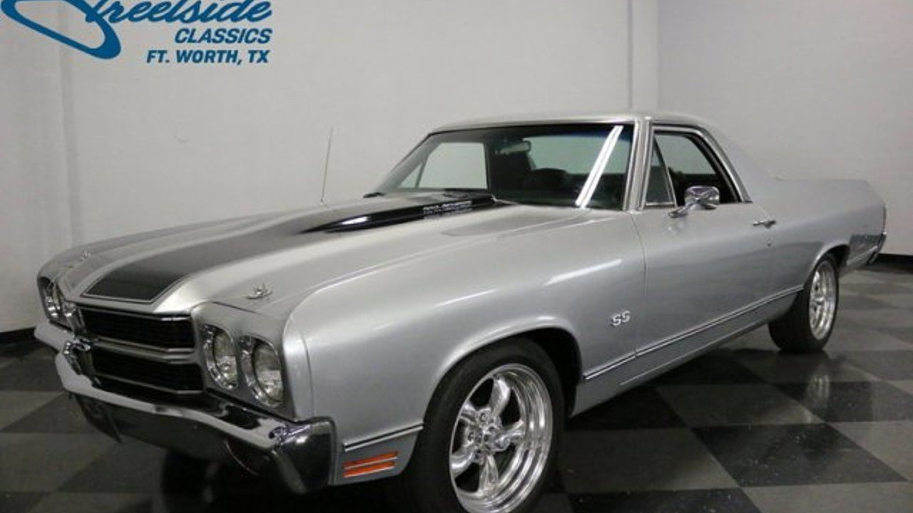 1970 Chevrolet El Camino for sale near Fort Worth, Texas 76137 ...