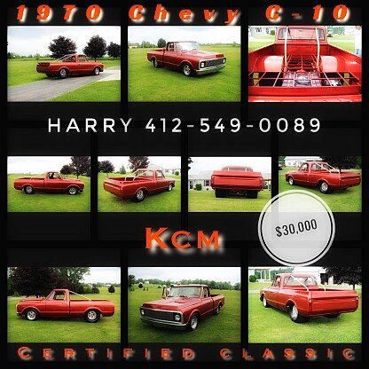 1970 Chevrolet G10 for sale 100888517