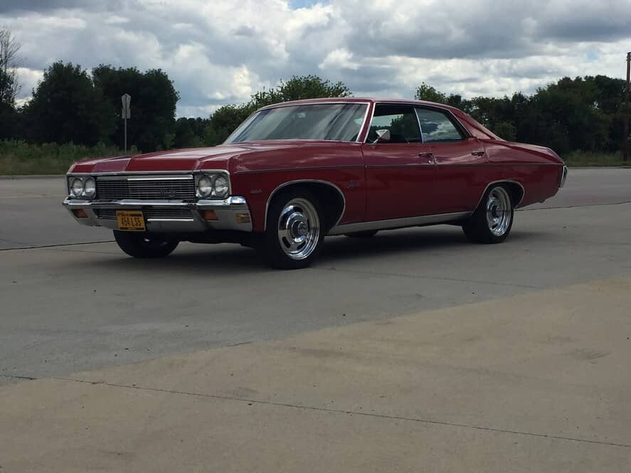 1972 chevy impalas for sale