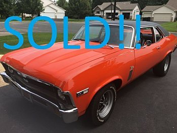 1970 Chevrolet Nova for sale 100889003