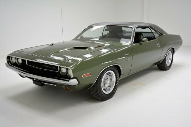 Dodge challenger muscle cars