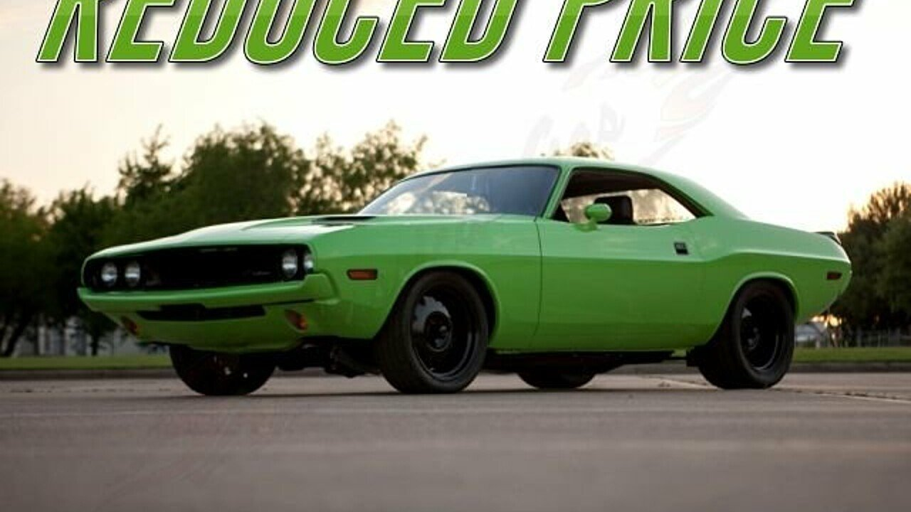 1970 dodge challenger for sale near arlington texas 76001 classics on autotrader. Black Bedroom Furniture Sets. Home Design Ideas