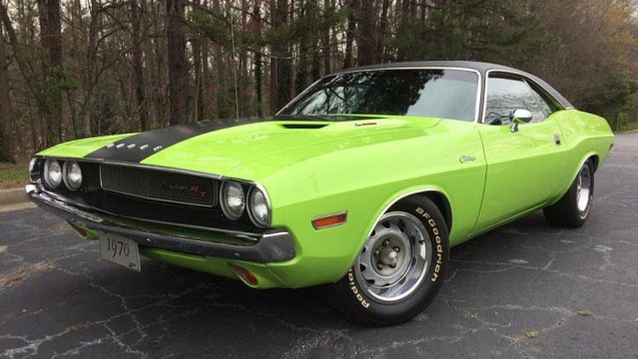 1970 Dodge Challenger for sale near Atlanta, Georgia 30340 ...