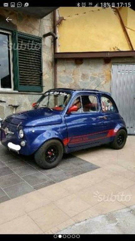 1970 FIAT 500 for sale 100886411