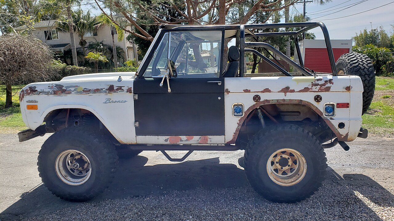 1970 Ford Bronco For Sale Near Encinitas California 92024 Lifted 100990476