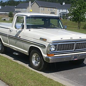 1970 Ford F100 2WD Regular Cab for sale 100767431