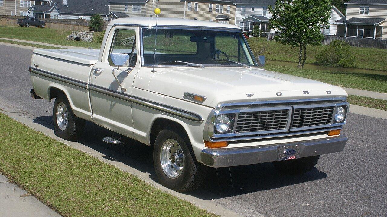 1970 ford f100 2wd regular cab for sale near summerville for La motors summerville sc