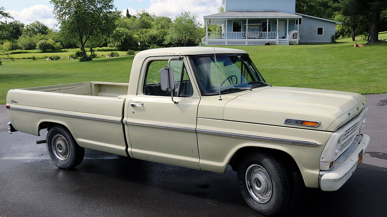 1970 Ford F100 for sale 100883595