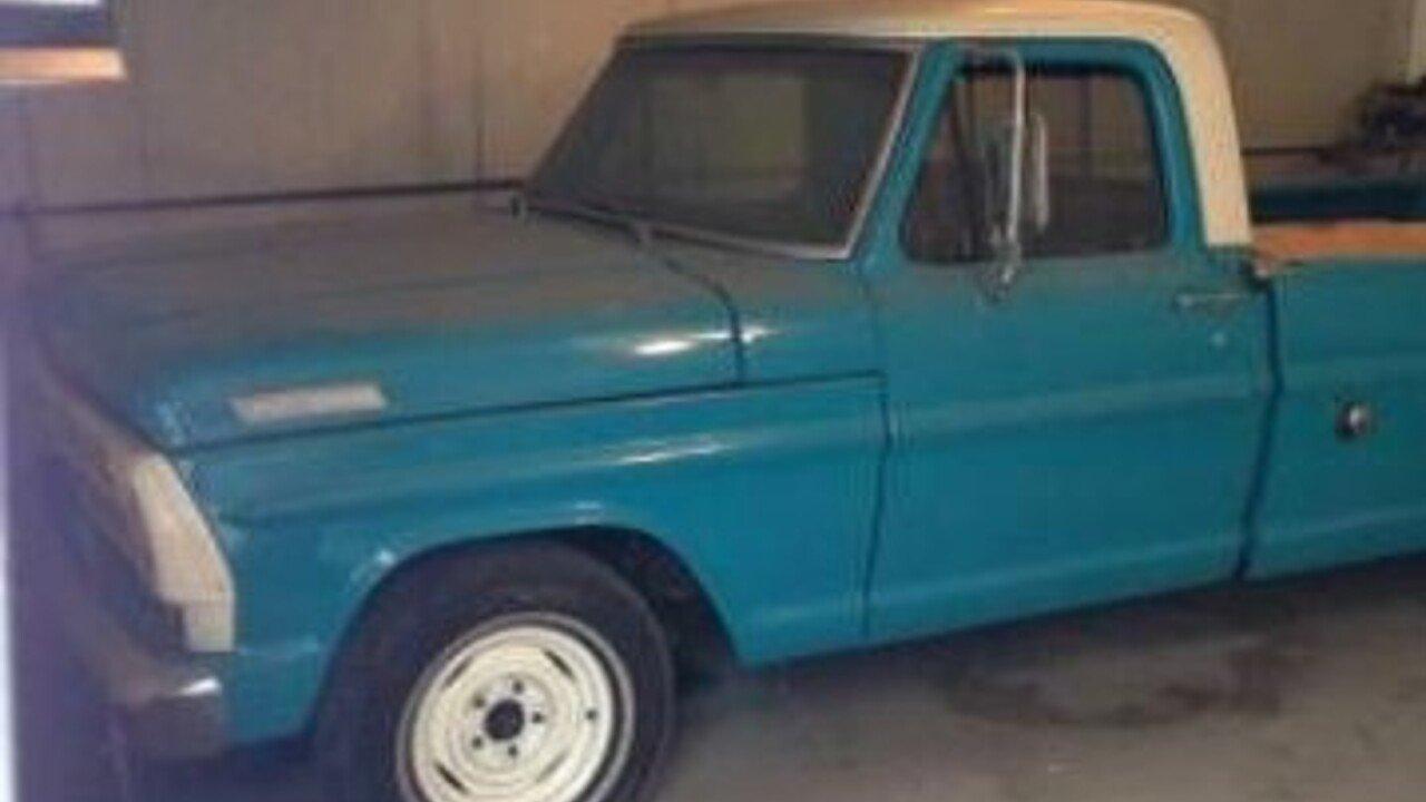 1970 Ford F100 For Sale Near Cadillac Michigan 49601 Classics On Truck 100961586