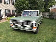 1970 Ford F100 2WD Regular Cab for sale 100923935