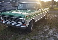 1970 Ford F100 for sale 100987980