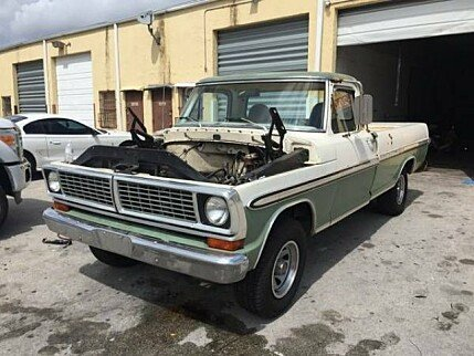 1970 Ford F100 for sale 101003625