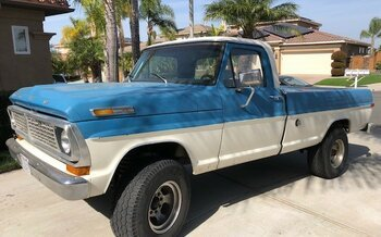 1970 Ford F250 2WD Regular Cab for sale 100956111