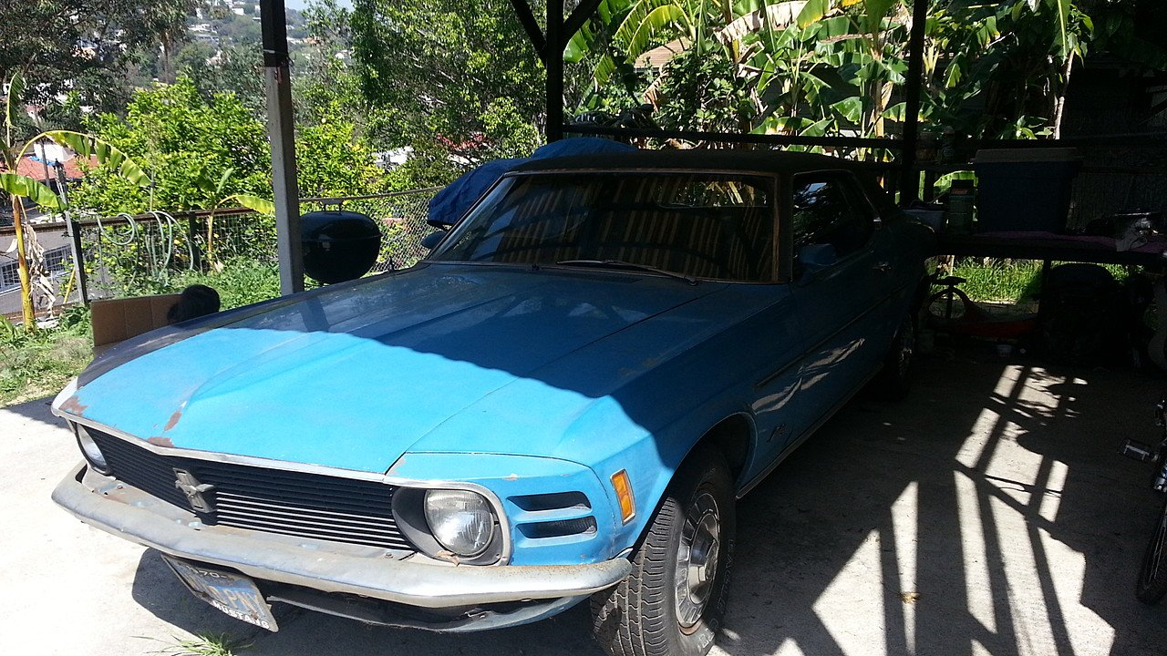 1970 Ford Mustang for sale near Los Angeles, California 90026 ...