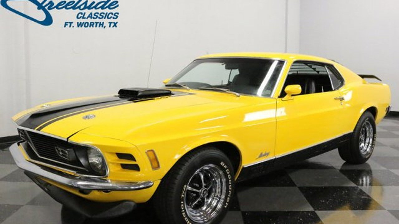 1970 Ford Mustang for sale near Fort Worth, Texas 76137 - Classics ...