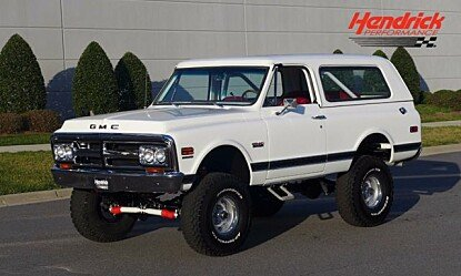 1970 GMC Jimmy for sale 100852405