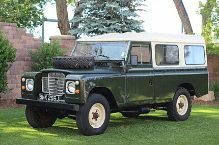 land rover series ii classics for sale classics on autotrader. Black Bedroom Furniture Sets. Home Design Ideas