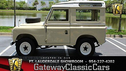 1970 land rover series ii classics for sale classics on autotrader. Black Bedroom Furniture Sets. Home Design Ideas
