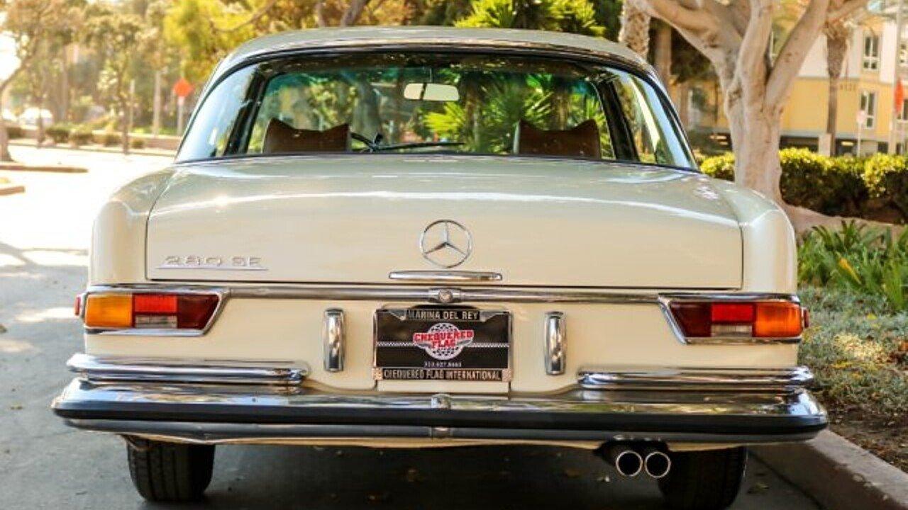 1970 Mercedes-Benz 280SE for sale near Marina Del Rey, California ...