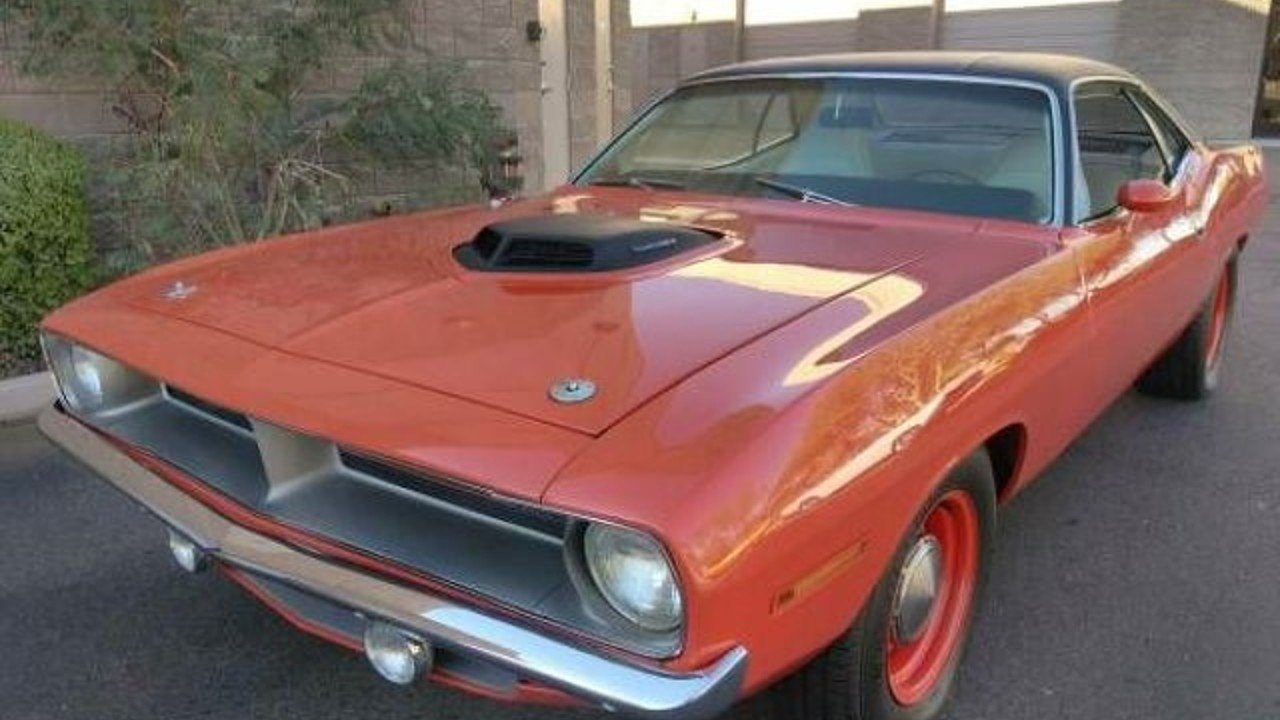 1970 Plymouth Barracuda for sale 100842920