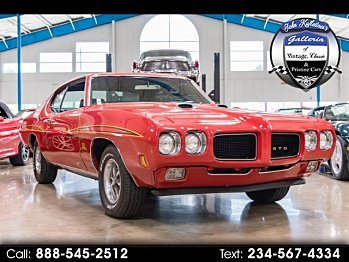 1970 Pontiac GTO for sale 100959144