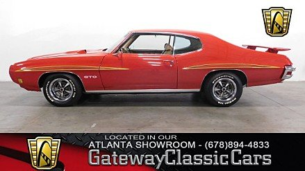 1970 Pontiac GTO for sale 100963787