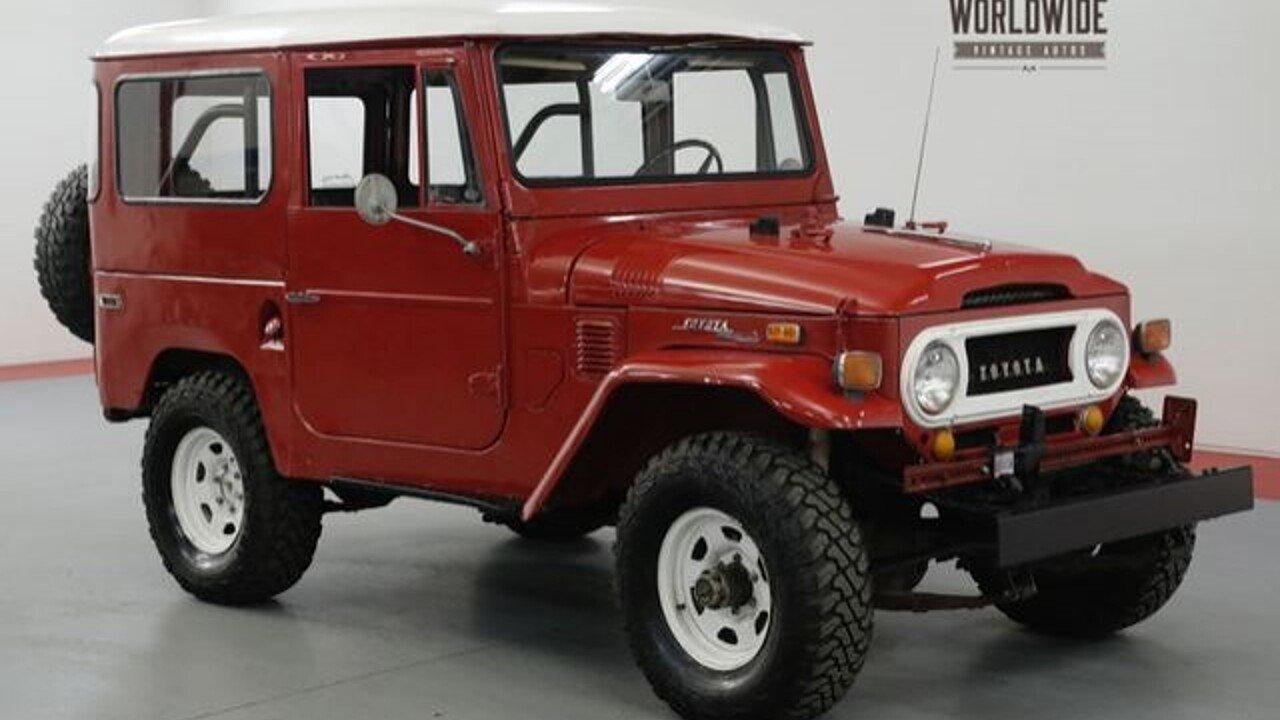 1970 Toyota Land Cruiser For Sale Near Denver Colorado 80216 1973 Distributor 101047458
