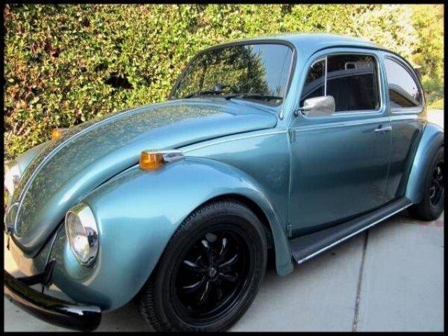 1970s volkswagen beetle