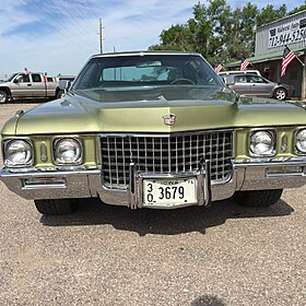 1971 Cadillac De Ville for sale 100818459